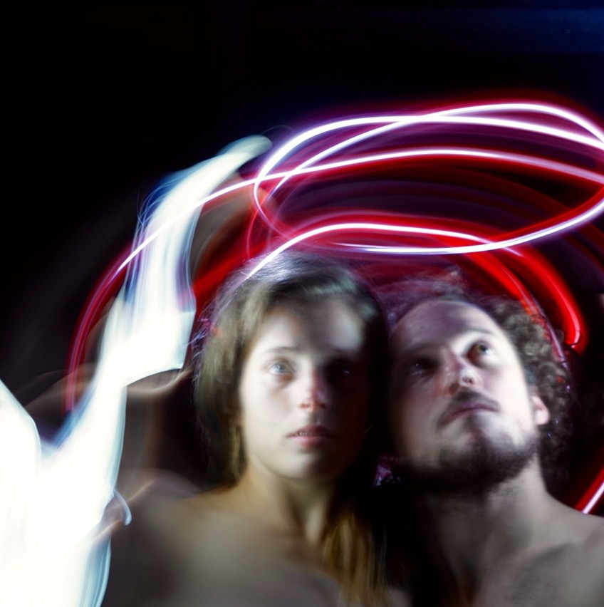 paola di bella, Florian Vuille and some lights